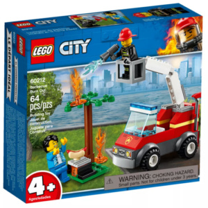Barbeque Burn Out City Lego Eden Toys