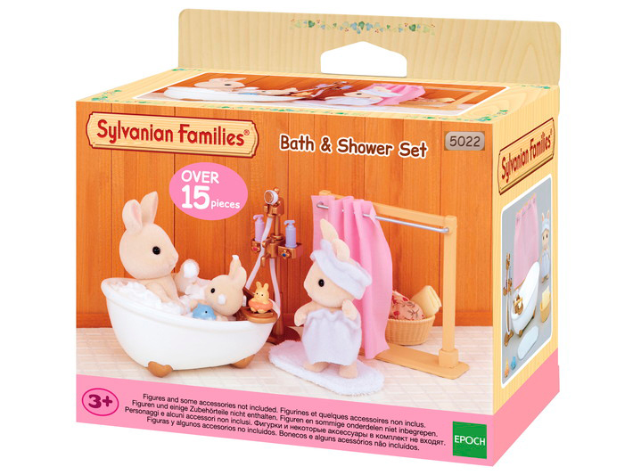 Bath and Shower Set Sylvanian Families Eden Toys www.edentoys.co.za