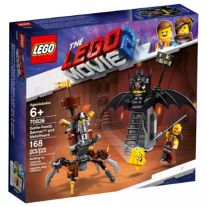 Battle Ready Batman and Metalbeard Lego Move 2 Lego Eden Toys