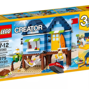 Beachside Vacation Creator Lego Eden Toys