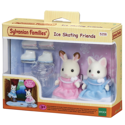 Ice Skating Friends Sylvanian Families Eden Toys www.edentoys.co.za