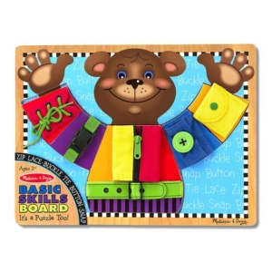 Basic Skills Puzzle Board Melissa and Doug Eden Toys