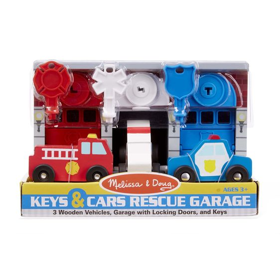 Keys and Cars Rescue Garage Melissa and Doug Eden Toys