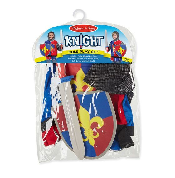 Knight Role Play Costume Set Melissa and Doug Eden Toys