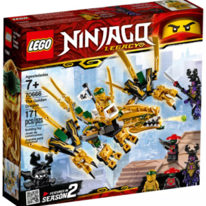 The Golden Dragon Ninjago Lego Eden Toys