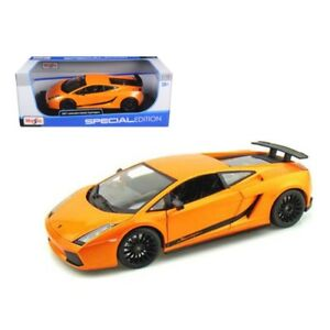 2007 Lamborghini Gallardo Superleggera Orange Maisto Eden Toys