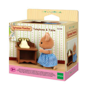 Telephone and Table Sylvanian Families Eden Toys