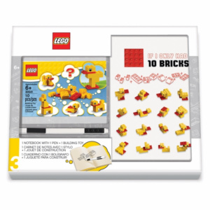 Lego Duck with Notebook and Pen Lego Stationery Eden Toys