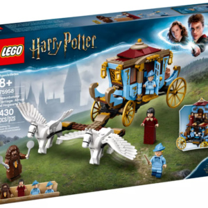Beauxbatons Carriage Arrival at Hogwarts Harry Potter Eden Toys