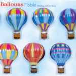 Tin Hot Air Balloons Mobile Eden Toys www.edentoys.co.za